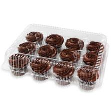 Fudge Iced Chocolate Cupcakes, 12-Count