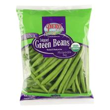 Pero Green Beans, Snipped, Organic