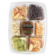 Snack Sensations Apple & Cheese Tray, with Caramel Dip