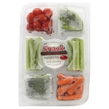 Snack Sensations Vegetable Tray, with Lite Ranch Dip