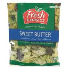 Fresh Express Salad, Sweet Butter