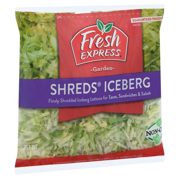 Fresh Express Iceberg, Shreds
