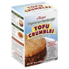 Marjon Tofu Crumbles Hamburger, Vegetarian, Original