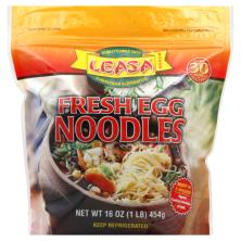 Leasa Egg Noodles, Fresh