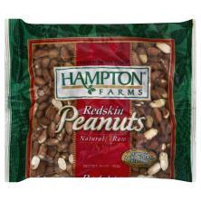 Hampton Farms Peanuts, Redskin, Natural & Raw