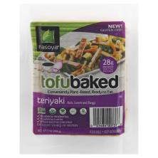 Nasoya Tofu Baked Tofu, Baked, Marinated, Teriyaki