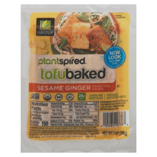 nasoya tofu baked tofu baked marinated sesame ginger publix com
