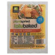 Nasoya Tofu Baked Tofu, Baked, Marinated, Sesame Ginger