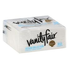 Vanity Fair Everyday Napkins, Design Collection, Printed, 2-Ply