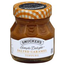 Smuckers Simple Delight Topping, Salted Caramel