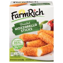 Farm Rich Mozzarella Sticks, Breaded