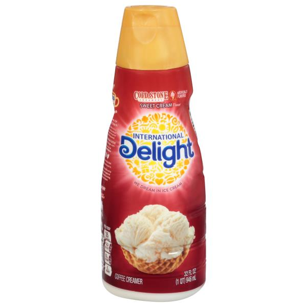 International Delight Coffee Creamer, Gourmet, Cold Stone Creamery Sweet Cream