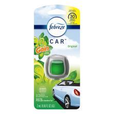 Febreze Car Air Freshener, Vent Clip, With Gain Scent, Original