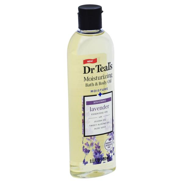 Dr Teals Bath & Body Oil, Moisturizing, Lavender