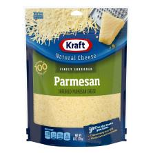 Kraft Natural Cheese, Finely Shredded, Parmesan