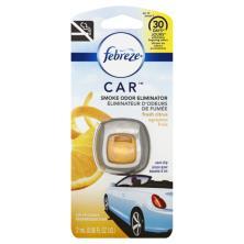 Febreze Car Air Freshener, Vent Clip, Fresh Citrus