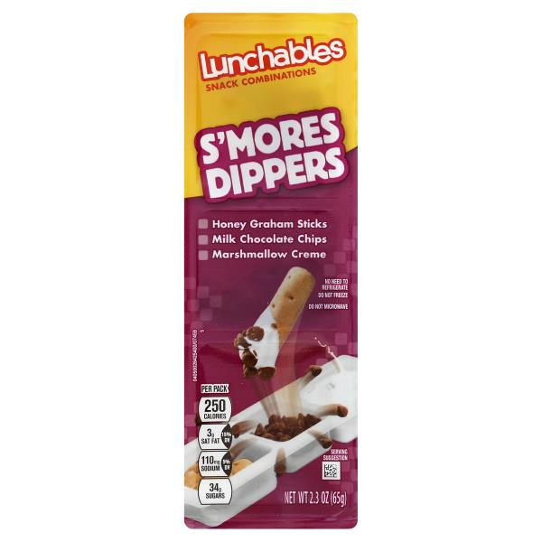 Lunchables Snack Combinations, S'mores Dippers