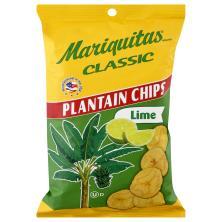 Mariquitas Plaintain Chips, Classics, Lime