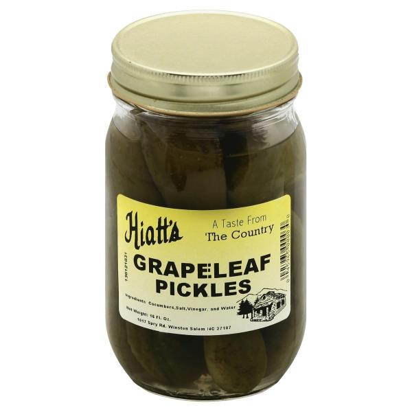 Hiatts Pickles Grapeleaf