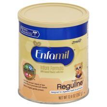 Enfamil Reguline Infant Formula, Milk-Based with Iron, Powder, Through 12 Months