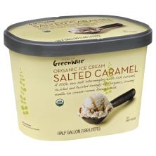 GreenWise Ice Cream, Organic, Salted Caramel