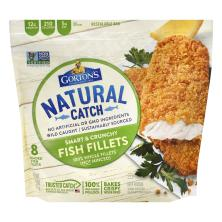 Gortons Smart & Crunchy Fish Fillets, Breaded
