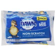 Dawn Scrubber Sponges, Non-Scratch