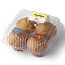 Jumbo Pumpkin Muffins 4ct