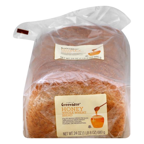 GreenWise Honey Whole Wheat Bread
