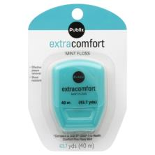 Publix Floss, Extra Comfort, Mint