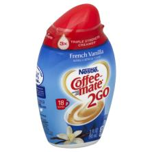 Coffee Mate 2Go Coffee Creamer, Concentrated, French Vanilla