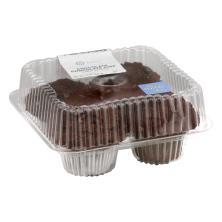 Jumbo Choc/Choc Chip Muffins 4ct