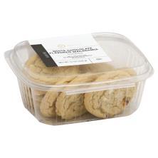 Sugar Free White Choc Macadamia Cookies