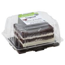 Inspired Cake, Gluten Free, Dark & White Chocolate Layer
