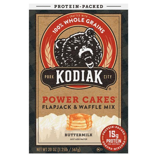 Kodiak Cakes Flapjack And Waffle Mix Power Cakes Protein