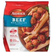 Armour Meatballs, Beef, Family Size