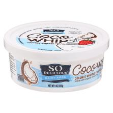 So Delicious Whipped Topping, Coconut, CocoWhip