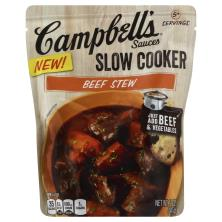 Campbells Slow Cooker Sauces, Beef Stew
