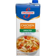 Swanson Broth, Chicken, Unsalted