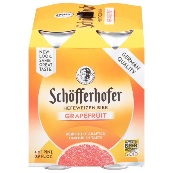 Schofferhofer Grapefruit Wheat Beer : Publix com