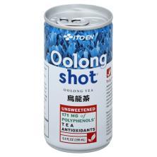 Ito En Oolong Shot Oolong Tea, Unsweetened