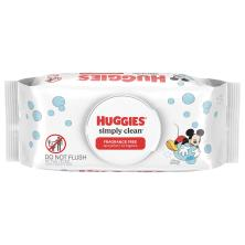 Huggies Simply Clean Wipes, Fragrance Free, Disney Mickey Mouse & Friends