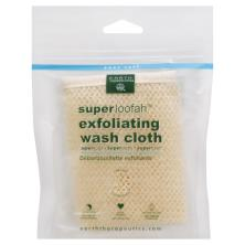 Earth Therapeutics Wash Cloth, SuperLoofah, Exfoliating