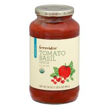 GreenWise Tomato Basil Sauce, Organic
