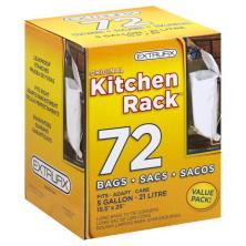 Extrufix Kitchen Rack Bags, 5 Gallon, Value Pack!
