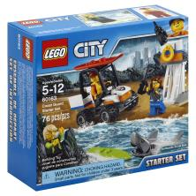 Lego Building Toy, Coast Guard Starter Set