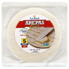 La Real Arepas, Colombian Style, Large