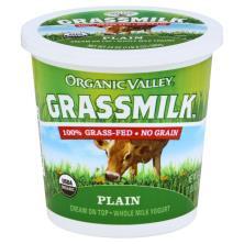 Organic Valley Grassmilk Yogurt, Whole Milk, Cream On Top, Plain