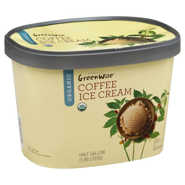 GreenWise Ice Cream, Organic, Coffee