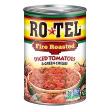 Rotel Diced Tomatoes & Green Chilies, Fire Roasted